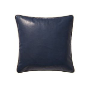 New Serena and lily leather/linen pillow cover